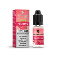 Diamond Mist Raspberry 20mg Nic Salt E-Liquid