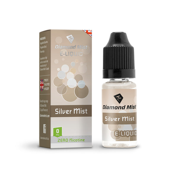 Diamond Mist Silver Mist 0mg E-Liquid
