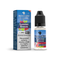 Diamond Mist Summer Breeze 10mg Nic Salt E-Liquid