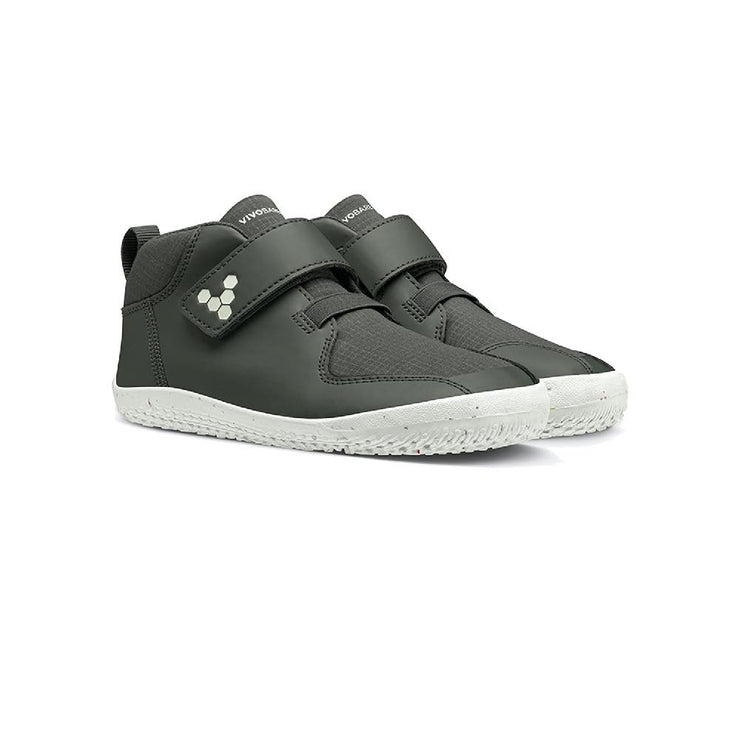 Vivobarefoot Primus Bootie II All Weather Kids Charcoal Pair