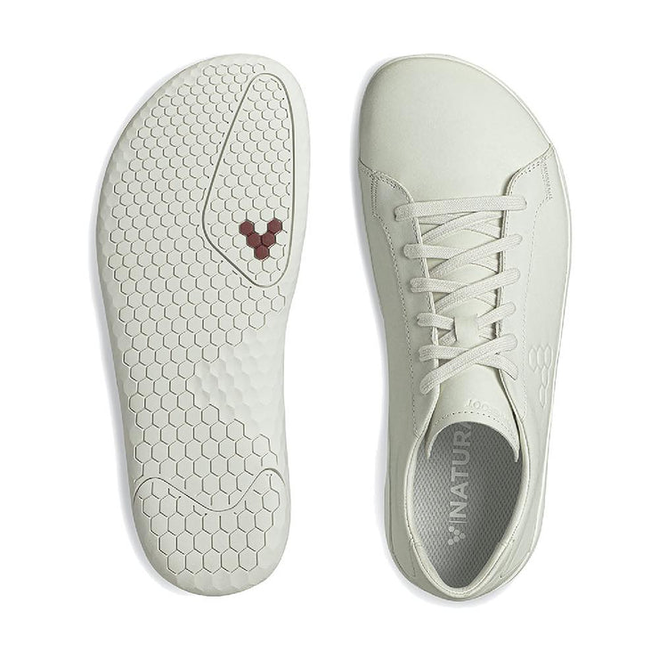 Vivobarefoot Geo Court II Mens Limestone Sole and Top