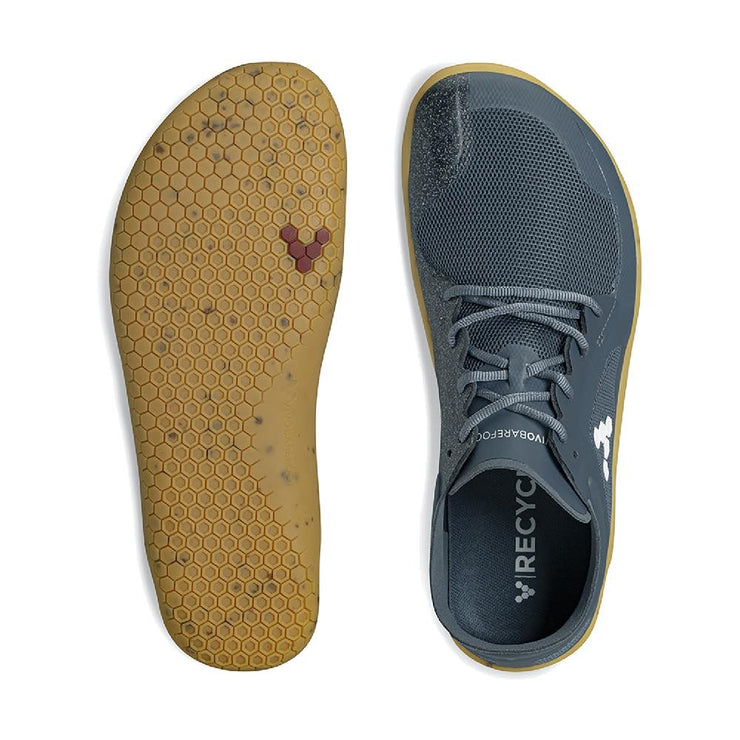Vivobarefoot Primus Lite III Mens Deep Sea Blue Sole and Top