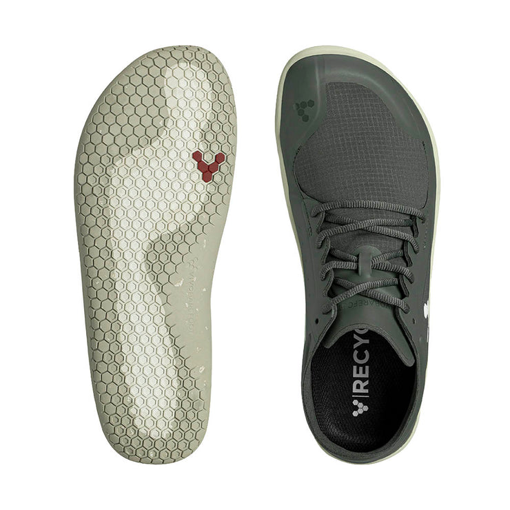 Vivobarefoot Primus Lite III All Weather Mens Charcoal Sole and Top