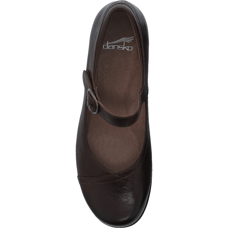 DANSKO  Fawna Chocolate Burnished Calf