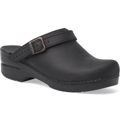 DANSKO Ingrid Black Oiled