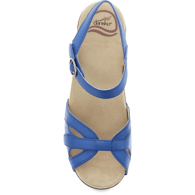 DANSKO Season Cobalt Burnished Calf