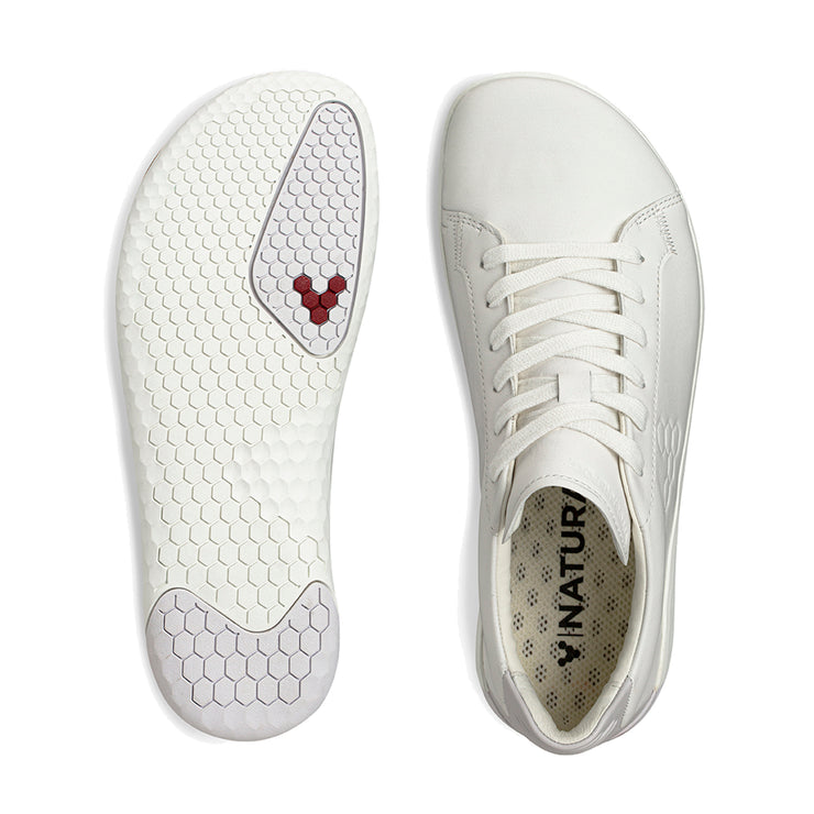 Vivobarefoot Geo Court Womens Bright White