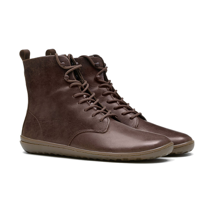 Vivobarefoot Gobi Hi 2.0 Womens Brown Leather | Proudly Distributed by Sole Distribution Pty Ltd Australia
