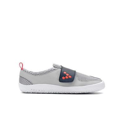 Vivobarefoot Primus Kids Grey Navy Orange