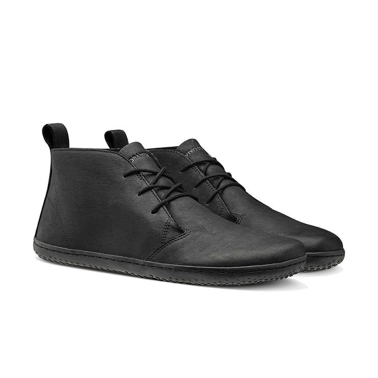 Vivobarefoot Gobi II Mens Leather Black/Hide