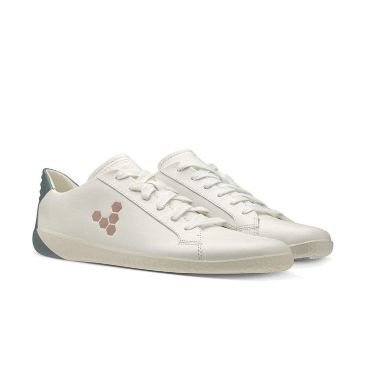 Vivobarefoot Geo Court Womens White Navy Pink | Proudly Distributed by Sole Distribution Pty Ltd Australia