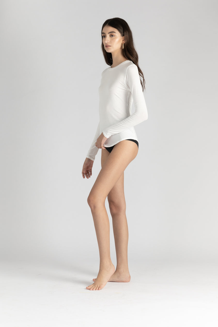 Emily Crew Neck Long Sleeve