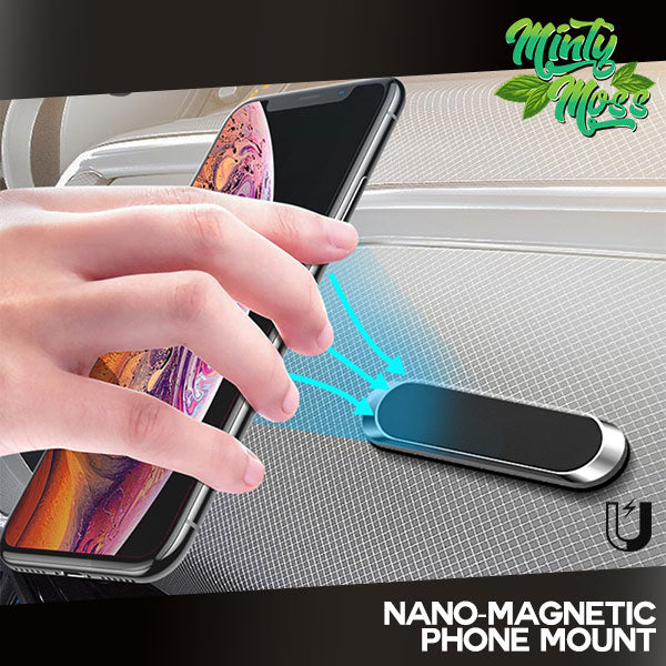 Nano-Magnetic Mobile Phone Holder