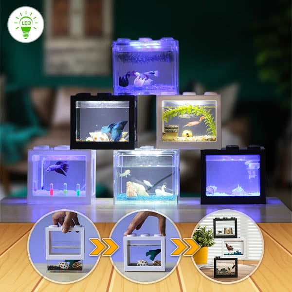 InspireHOME Block Aquarium