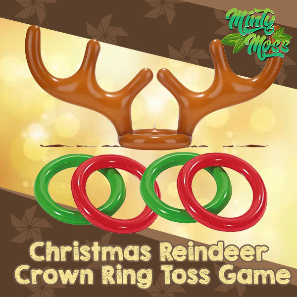 Christmas Interactive Antler Ring Toss Game