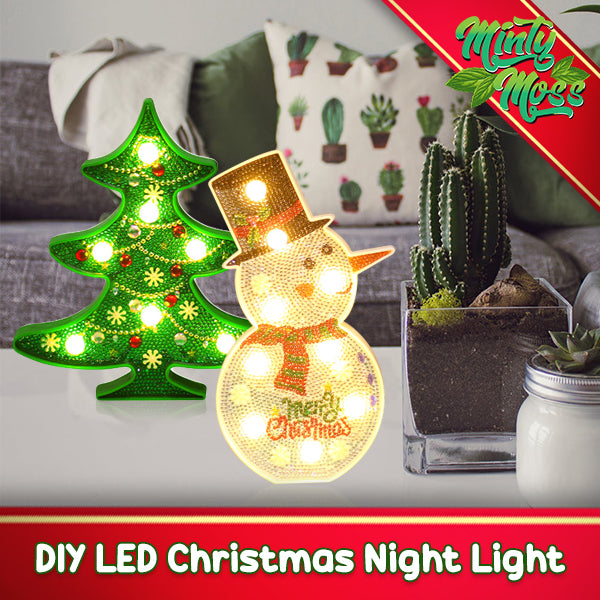 DIY LED Christmas Night Light