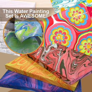 ArtsyCRAFT Water Transfer Paint Set