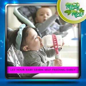 Hands-Free Baby Bottle Holder