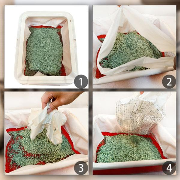 KittyCLEAN Cat Litter Box Filter