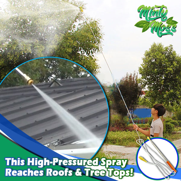 Telescopic Turbo Sprayer Wand