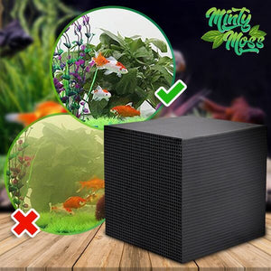EcoClean Honeycomb Aquarium Filter Cube