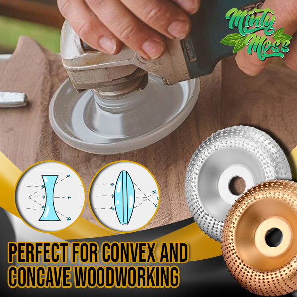Angle Grinder Wood Carving Disc