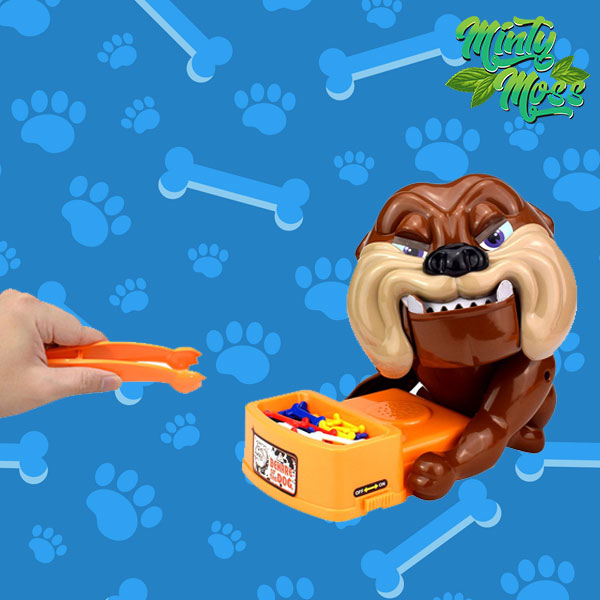 Hands Off! Biting Doggie Game