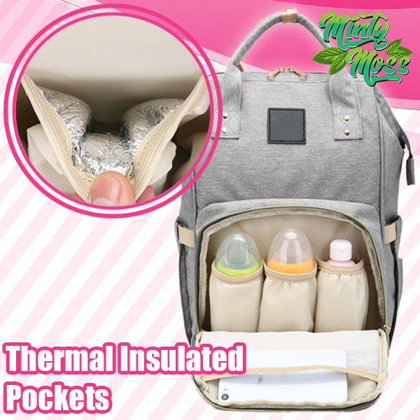 Waterproof Mommy Diaper Backpack
