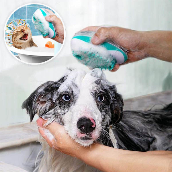 PetGROOM Shampoo Brush Massager