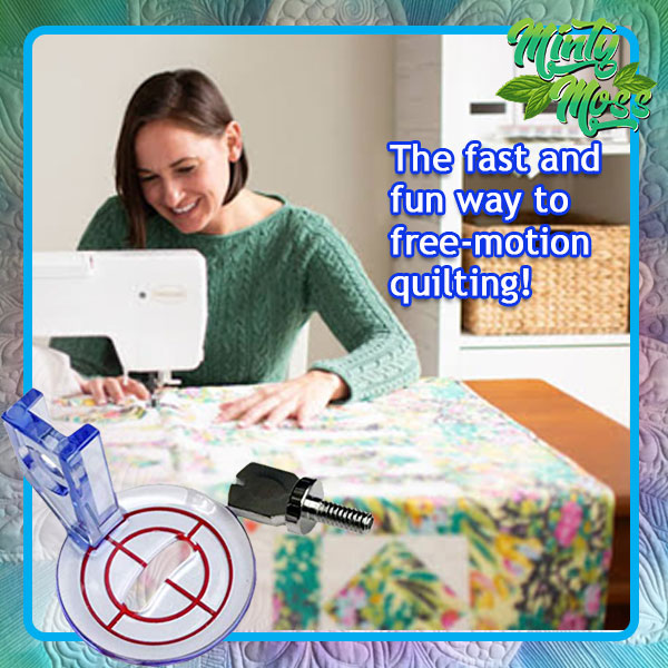 Free-Motion Echo Quilting Foot Press