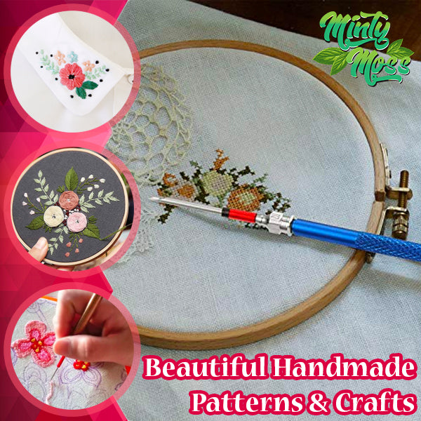 Thread-n-Punch Embroidery Needles