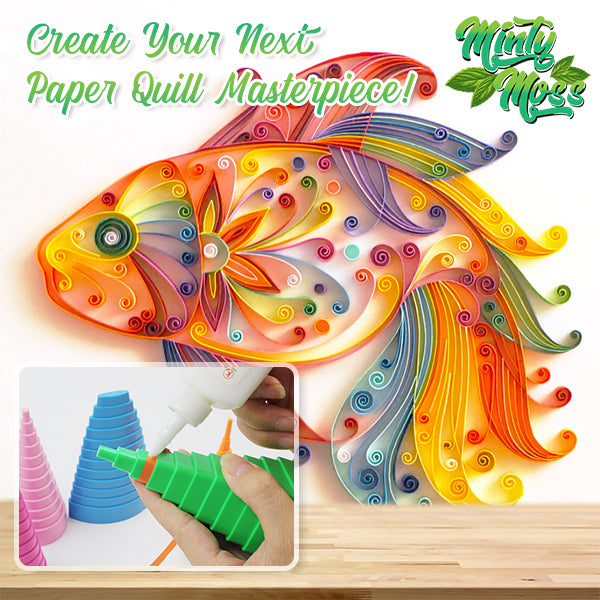 ArtBuddy Paper Quilling Tower Kit