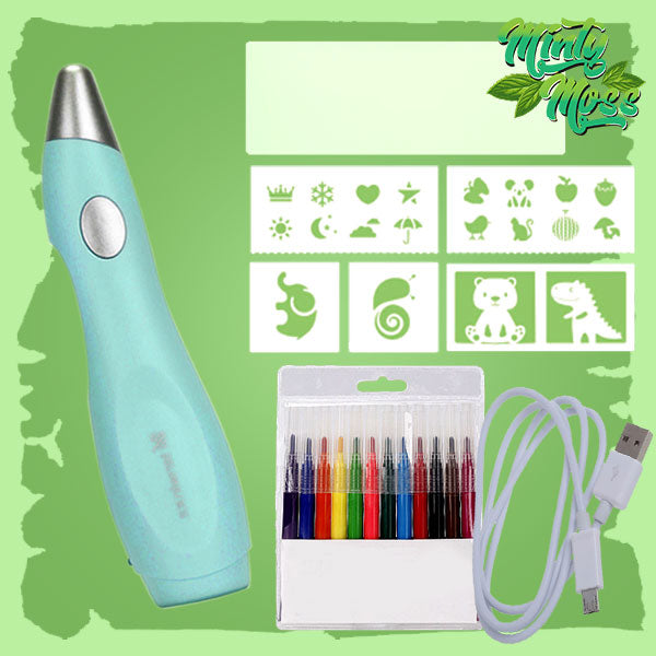 ColorSplash Air Brush Art Pen Kit