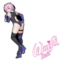 Mash Sticker - WaifuBait