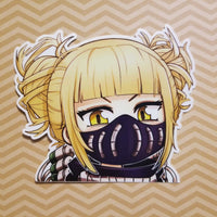 Chibi Toga With Mask Sticker - WaifuBait