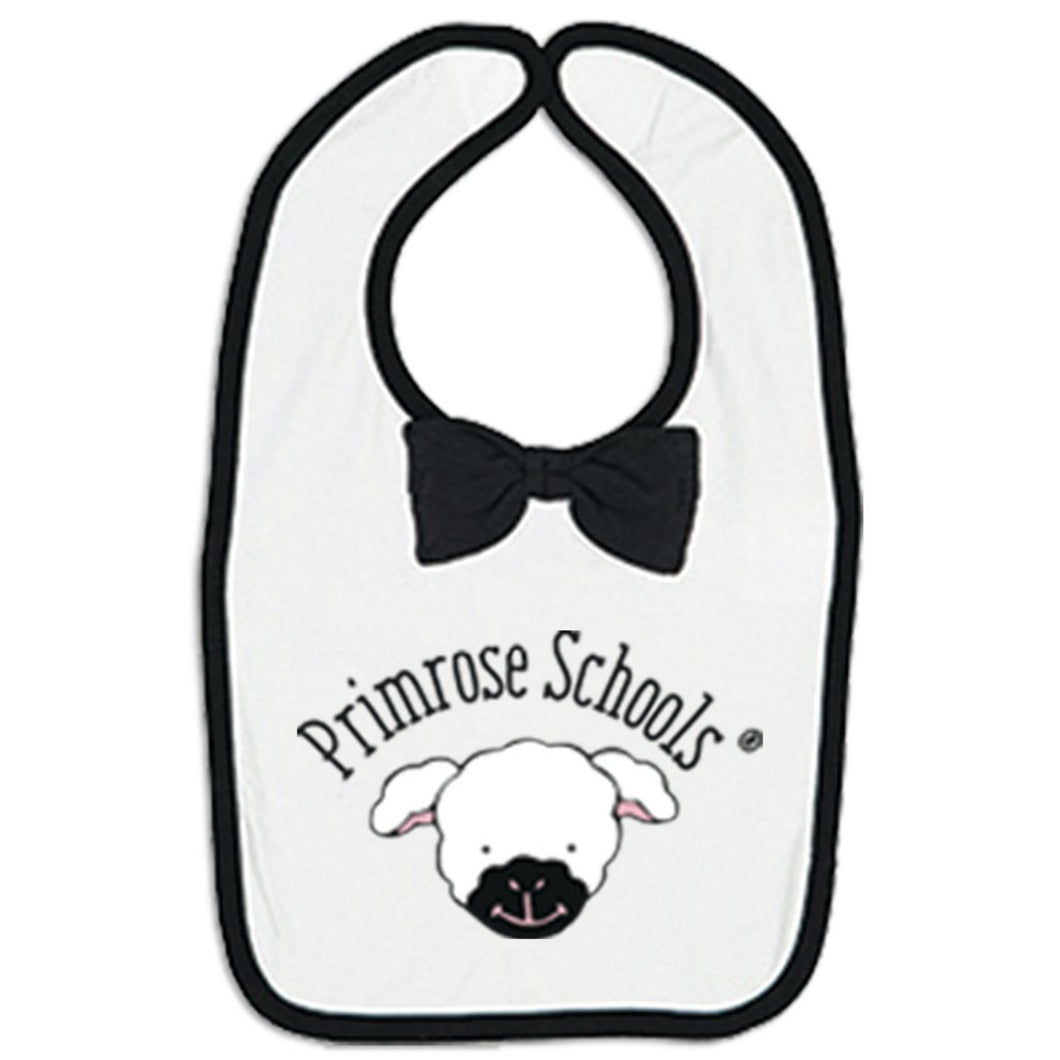 499 Black/White Libby Bow Bib