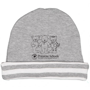 "478 Grey ""3 Friends"" Knit Infant Hat"