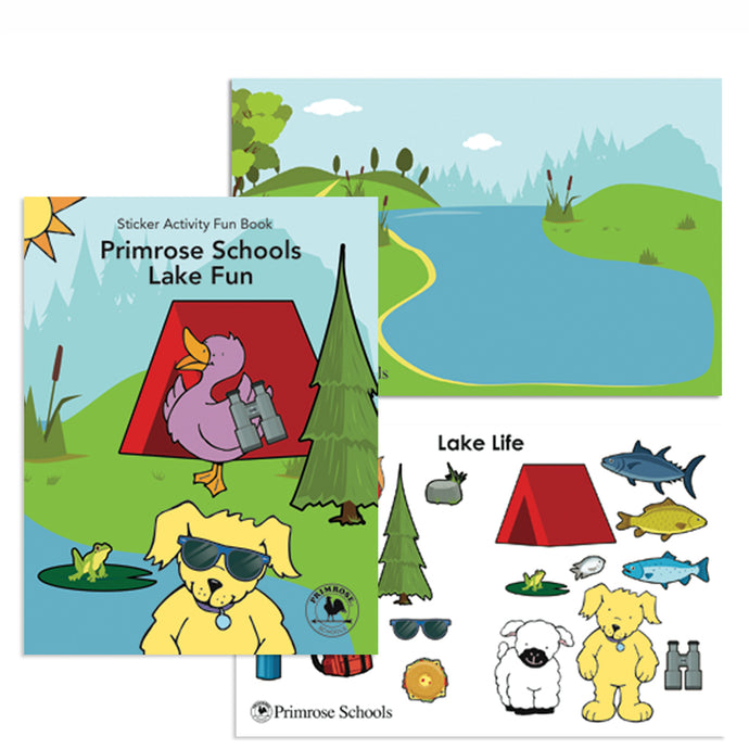 PP101 Lake Fun Sticker Books, 5 Pk
