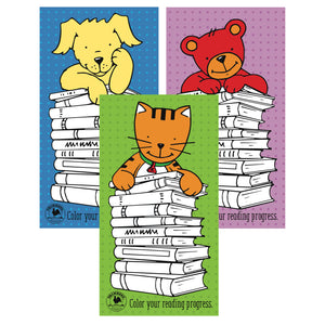 PP115 Every Book Counts Bookmarks, 3 pk