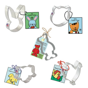 Set of Five Friends Cookie Cutters