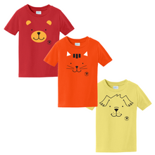 Load image into Gallery viewer, PP02 Toddler Faces Tee