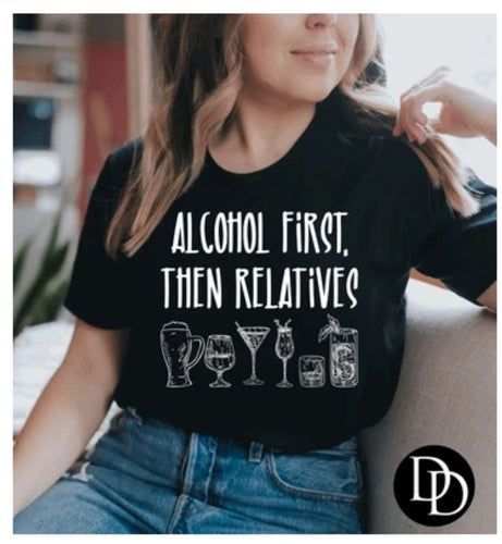 Alcohol First