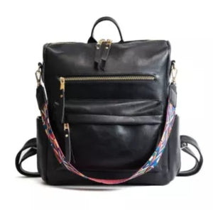 Black Casual versatile backpack