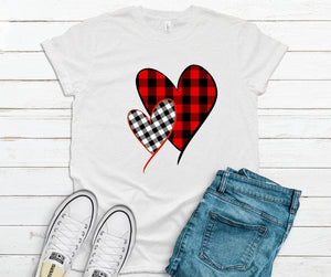 Plaid Hearts