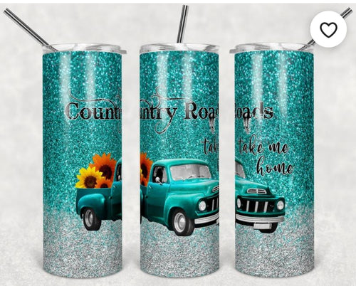 Country Roads tumbler