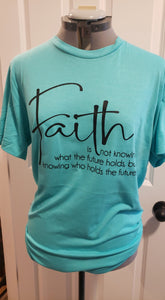 Faith is not knowing