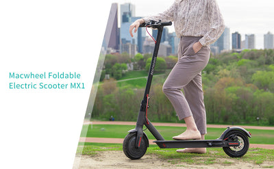 Macwheel MX1 Electric Scooter Review By Eridehero