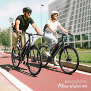 Macwheel Electric Bike, 16 inches Advanced Ebike with a 250W Brushless Motor & 5-Speed Gear, 3 Riding Modes for Adults and Teenagers, Folding Ebike with Pedals