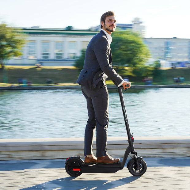 Macwheel MAX Electric Scooter, Up to 40 Miles Long Range, 500W Brushless Motor, Max Speed 18.6mph