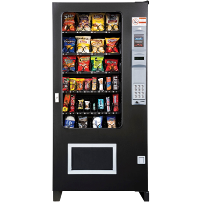 "AMS 4 Wide 35"" Snack Machine - Cheap Vending Machines.com"